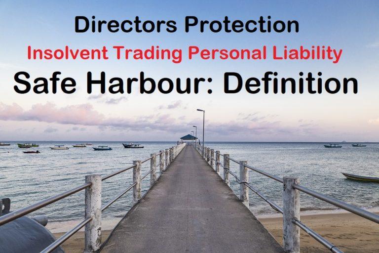 safe harbour definition